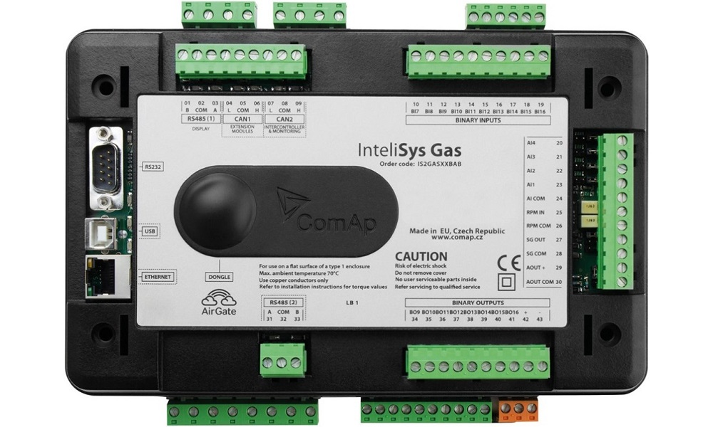 Контроллер ComAp InteliSys Gas